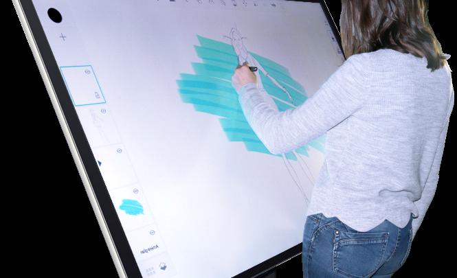 L'écran interactif capacitif, l'outil privilégié par les graphistes